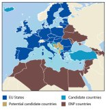 The EU neighborhood (Photocredit: European Commission)