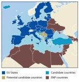 The EU neighborhood (Photocredit: European Commission)