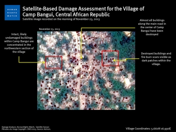 Scorched Earth: Satellite images of 'burn scars' from Camp Bangui, Central African Republic (hrw.org)
