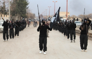 A Call To Arms: Al-Qaeda affiliated groups march through the Syrian town of Tel Abyad (pri.org)