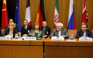 Catherine  Ashton and  Javad Mohammad Zarif lead negotiations between the P5+1 Group and Iran (america.aljazeera.com)